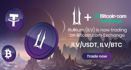 Blockchain-Based Gaming Illuvium (ILV) Token Is Now Listed on Bitcoin.com Exchange – Press release Bitcoin News