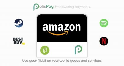 Use your NULS on real-world goods and services. PolisPay Wallet