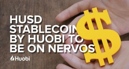 HUSD Stablecoin by Huobi to be on Nervos
