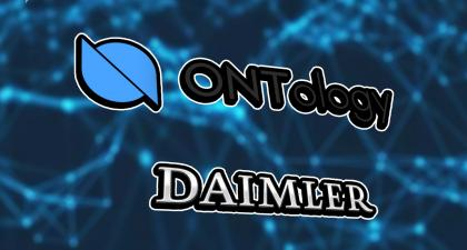 Daimler partners with <bold>Ontology</bold> to transform the driving experience