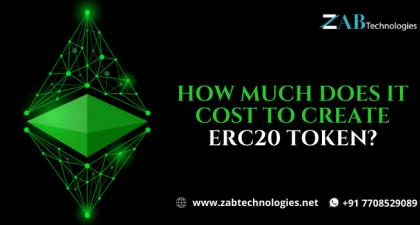 How Much Does it Cost to Create ERC20 Token? | Token Creation Services