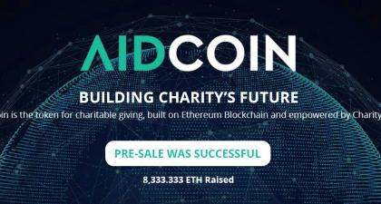 AIDcoin - Tokens for charitable giving
