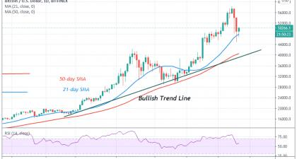 Bitcoin (BTC) Price Prediction: BTC/USD Crashes, Regains Bullish Momentum, and Targets the $60,000 High