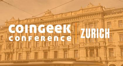 CoinGeek Zurich (Samsung Hall, June 8-10) gathers speakers from all corners of the world to talk about how blockchain technology can: 'Ignite The Power Of Data'