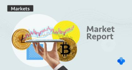 Monthly cryptocurrency market report: New year, new records