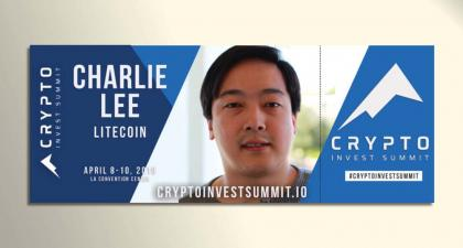 Crypto Invest Summit Announces Litecoin Foundation Partnership and Charlie Lee Keynote - Crypto Invest Summit
