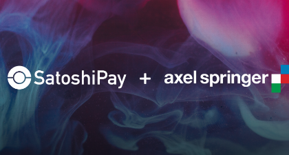 SatoshiPay and Axel Springer cooperate on blockchain technology usage