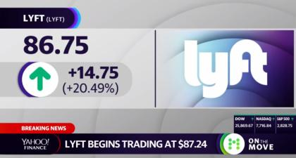 Yahoo Finance Bumps Cardano Creator for More Lyft IPO Coverage