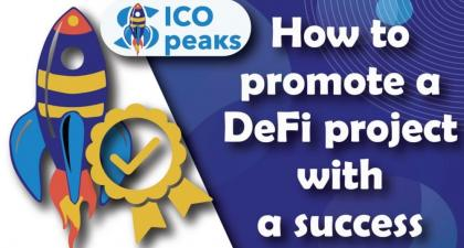 How to promote DeFi crypto project for success