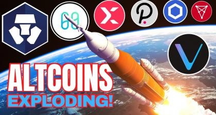 ALTCOINS ROCKETING: Harmony, StormX, Crypto.com, Polkadot, Chainlink, Chiliz and GeoDB 🚀😎 – Official Cryptocurrency Blockchain Bitcoin News & Information