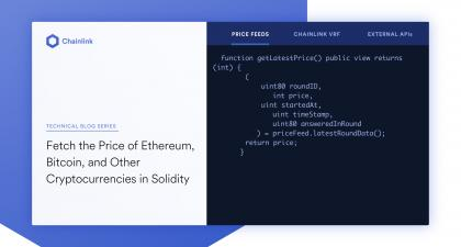Fetch Price of <bold>Ethereum</bold>, <bold>Bitcoin</bold>, & Crypto in Solidity