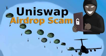 Beware of this Ongoing Uniswap Airdrop Scam