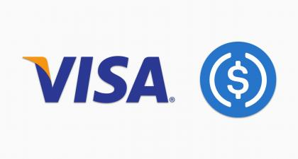 Visa Will Accept USD Coin Cryptocurrency to Settle Transactions