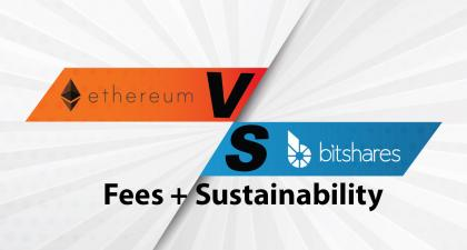 Ethereum vs BitShares: Sustainability/Fees Comparison