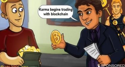 After a Successful Crowdsale Campaign, Karma (KRM) Begins Trading With Blockchain