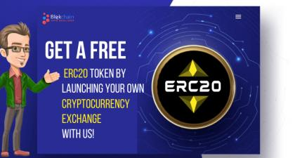 Launch Your Own Cryptocurrency Exchange And Get Your ERC20 Token For FREE