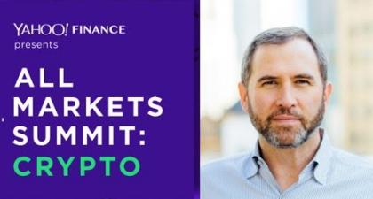 Ripple CEO Brad Garlinghouse to Speak at Yahoo Finance Crypto Summit in NYC