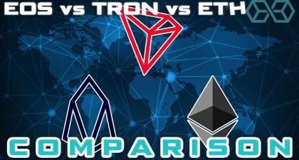 EOS vs Ethereum vs TRON - Which Is Best? In-Depth Review