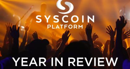 Syscoin Platform 2018 Year-in-review – Syscoin Community – Medium