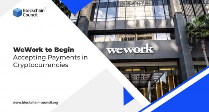 WeWork to Begin Accepting Payments in Cryptocurrencies -