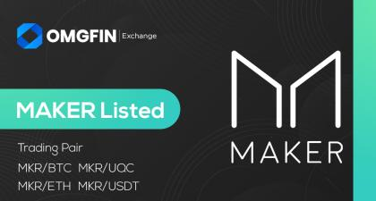 MAKER (MKR) get listed on OMGFIN!