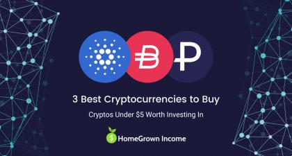 3 Best Cryptocurrencies Under $5 to Buy & Invest in