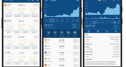 The Crypto App: The World's Best Cryptocurrency Portfolio Tracker with over 1000+ Cryptocurrencies