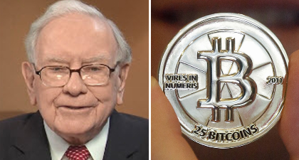 Warren Buffett on cryptocurrency: 'it will end badly'