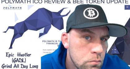 Polymath Review & Bee Token ICO Update...