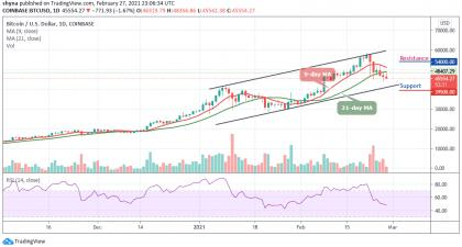 Bitcoin Price Prediction: Downtrend Continues as BTC/USD Crashes Below $46,000 Support