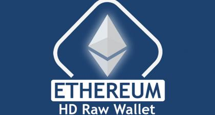 EthereumHd Raw wallet