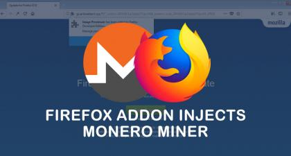 Image Previewer: First Firefox Addon that Injects an In-Browser Miner?