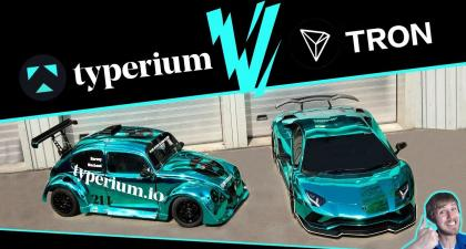 TRON (TRX) VS TYPERIUM #ICO WILL UPCOMING TYPE MAKE YOU RICH?