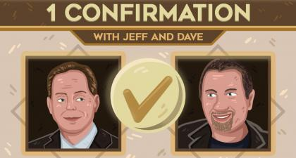 1 Confirmation with Jeff and Dave - The future of cryptocurrency and blockchain technology with special guest Guilherme of Indacoin. | BTCMANAGER