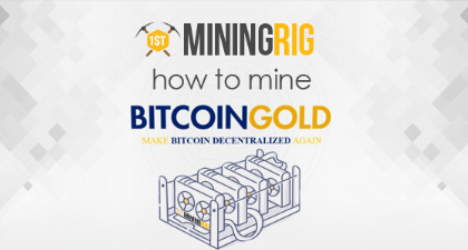 How to Mine Bitcoin Gold (BTG) & Best Mining Rig Hardware – Tutorial