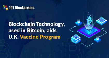 Blockchain Technology, Used in Bitcoin, Aids U.K. Vaccine Program
