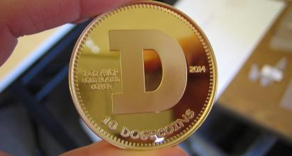 Dogecoin, the joke crypto, hits $9bn market cap