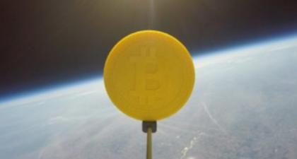 Toward the Moon: Genesis Mining Sends the First Bitcoin Into Space