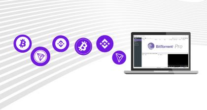 BitTorrent Accepts TRON, Binance and Bitcoin Cryptocurrencies for Pro & Ads Free Products