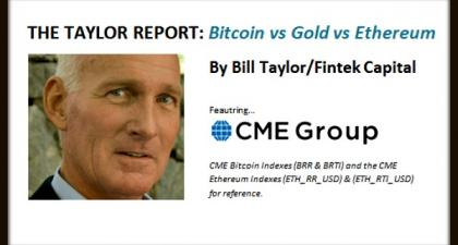The Taylor Report-Bitcoin vs Gold vs Ethereum (7/26/18)