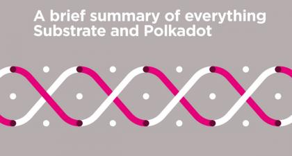 A brief summary of everything Substrate and Polkadot