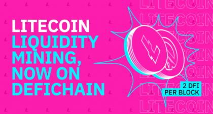Shifting into 'Lite'speed: DeFiChain Launches Litecoin Liquidity Mining • CryptoMode
