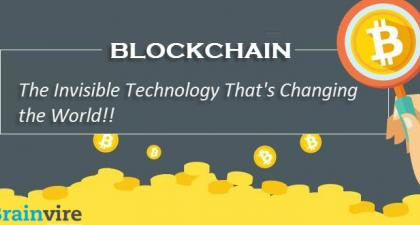 Blockchain -The Invisible Technology That's Changing the World!!