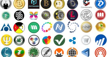 Different types of Cryptocurrency and their industry