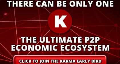 Karma. The Ultimate P2P Economic Ecosystem