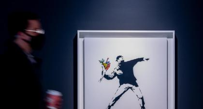 Sotheby's to accept cryptocurrency as payment in Banksy auction