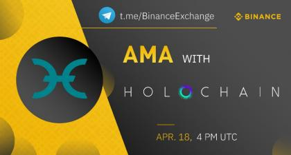 Binance Telegram AMA Session with the Holo Team Summary