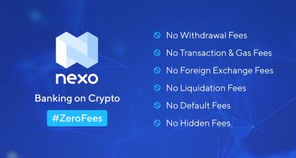 Nexo is Removing All Withdrawal Fees