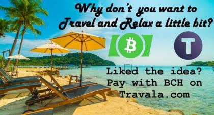 Travel in Travala and Pay with Bitcoin Cash