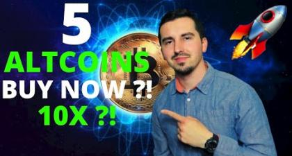 TOP 5 Crypto To Invest In May 2021 🚀|HUGE POTENTIAL 10X ?! 🔥| Altcoin